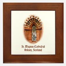 St. Magnus Cathedral, Orkney Framed Tile