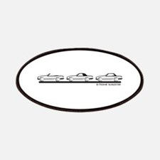 Mercedes 450 SL Type 107 Patches