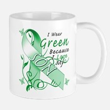 I Wear Green I Love My Son Small Small Mug