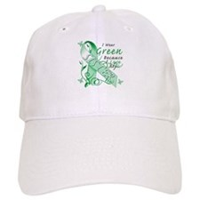I Wear Green I Love My Sister Baseball Cap
