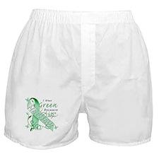 I Wear Green I Love My Nephew Boxer Shorts