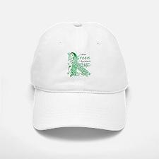 I Wear Green I Love My Nephew Baseball Baseball Cap