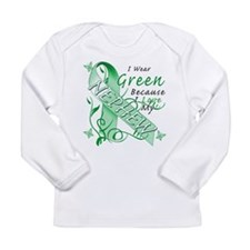 I Wear Green I Love My Nephew Long Sleeve Infant T