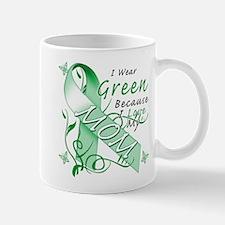 I Wear Green I Love My Mom Mug