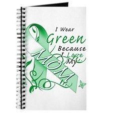 I Wear Green I Love My Mom Journal