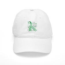 I Wear Green I Love My Mom Baseball Cap