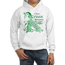 I Wear Green I Love My Mom Hoodie