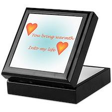 Warm Heart Keepsake Box