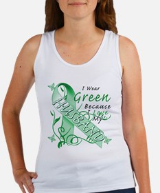 I Wear Green I Love My Husban Women's Tank Top