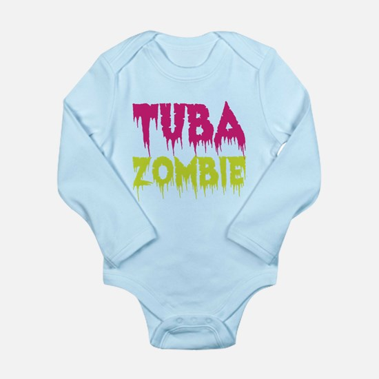 Tuba Zombie Long Sleeve Infant Bodysuit