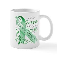 I Wear Green I Love My Great Mug