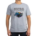 NEUTRAL Men's Fitted T-Shirt (grey)