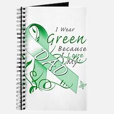 I Wear Green I Love My Dad Journal