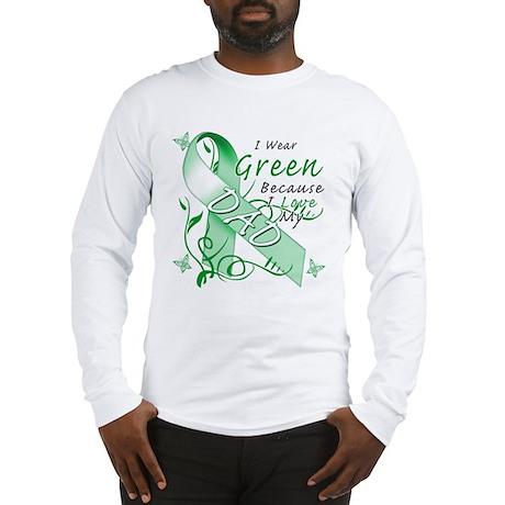 I Wear Green I Love My Dad Long Sleeve T-Shirt
