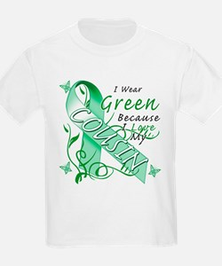 I Wear Green I Love My Cousin T-Shirt