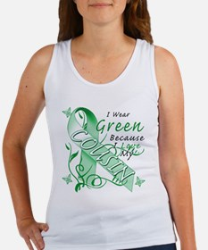 I Wear Green I Love My Cousin Women's Tank Top