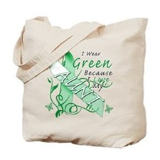 I Wear Green I Love My Aunt Tote Bag