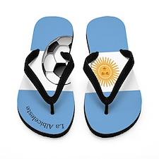 La Albiceleste Flip Flops / Argentina