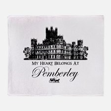 Jane Austen Gift Throw Blanket