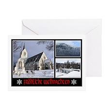Frohliche Weihnachte Greeting Card