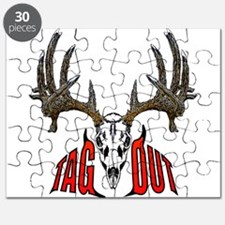 Whitetail Deer,Tag out Puzzle