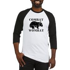 Combat Wombat Baseball Jersey