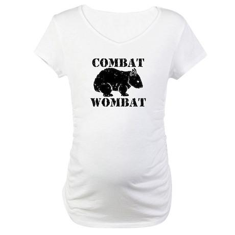 Combat Wombat Maternity T-Shirt