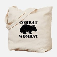 Combat Wombat Tote Bag