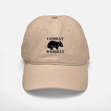 Combat Wombat Baseball Baseball Cap