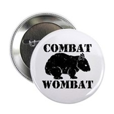 "Combat Wombat 2.25"" Button"