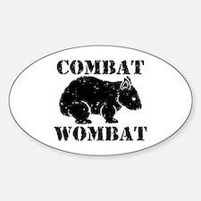 Combat Wombat Decal