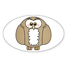 Cute Owl Decal