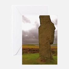 Orkney Standing Stone Greeting Card