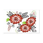 Petrykivka Flowers I Mini Poster Print