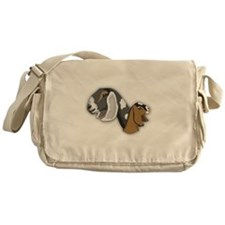 Nubian Goat Messenger Bag