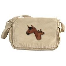 Oberhasli Goat Messenger Bag