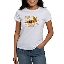 HOMEkayakDOGdark T-Shirt