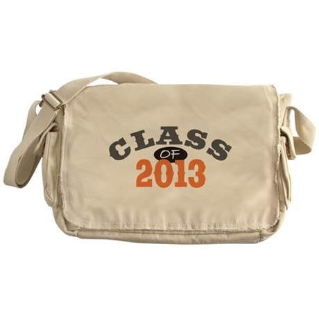 Class Of 2013 Orange Messenger Bag