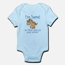 PONY Infant Bodysuit