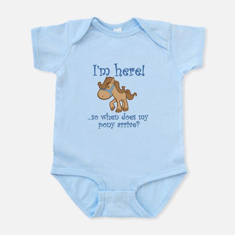 PONY Infant Bodysuit