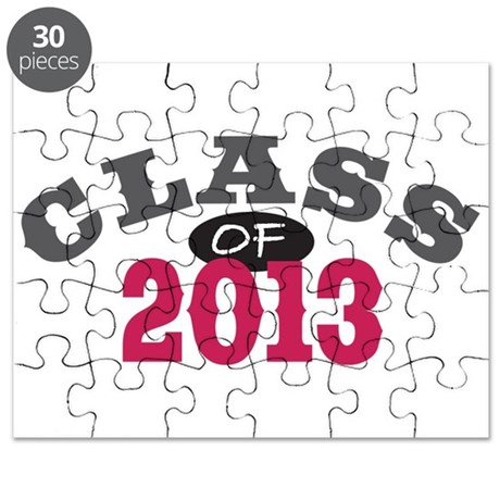 Class Of 2013 Red Puzzle