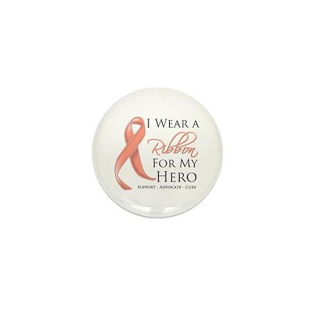 Hero Uterine Cancer Mini Button