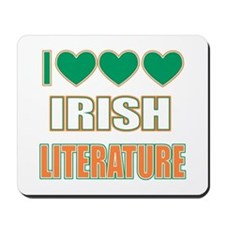 Irish Literature Mousepad
