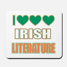 Irish Literature Mousepad