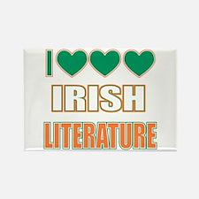 Irish Literature Rectangle Magnet