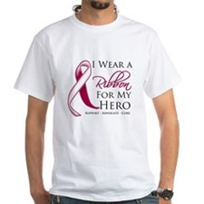 Hero Throat Cancer Shirt