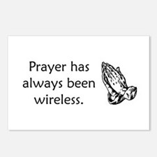 Prayer Is Always Wireless Postcards (Package of 8)
