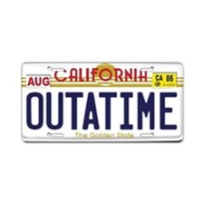 Replica Back to the Future OUTATIME License Plate