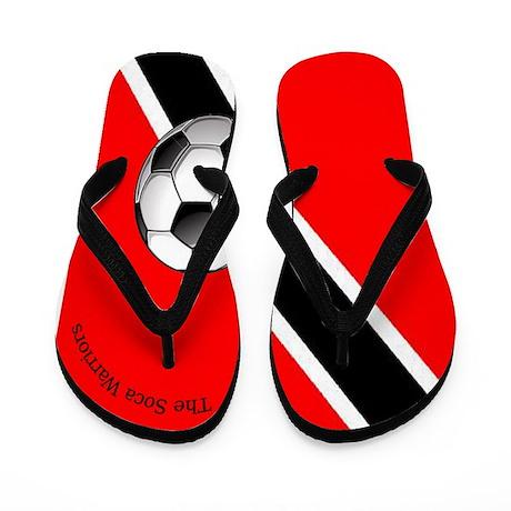 The Soca Warriors Flip Flops / Trinidad & Toba
