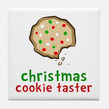 Cookie Taster Tile Coaster